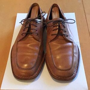 Cole Haan Tan Lace Ups, Size 10.